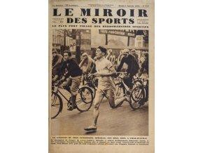 Noviny Le Miroir des Sports, 1931, SpartaDSC 6123 4 (25)