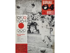 Časopis Kopaná 64 Hokej, číslo. 9, Ročník 2DSC 6056 3 (28)