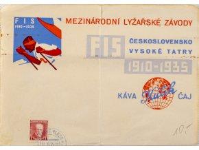 FDC Mezinárodní lyžařské závody, 1910DSC 5669