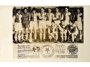 Dopisnice Finále Slavia Ferencváros III