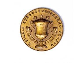 Bronzová medaile pamětní AC SPARTA Praha vs. FK Austria, 1936DSC 6438 9 (16)