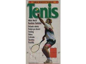Kniha Tenis, Miloš Mečíř, Rastislav NakládalDSC 6574
