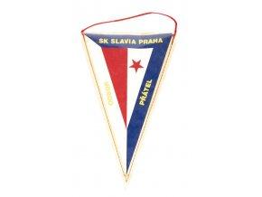 Vlajka klubová TJ SLAVIA PRAHA Odbor přátel IVDSC 6602