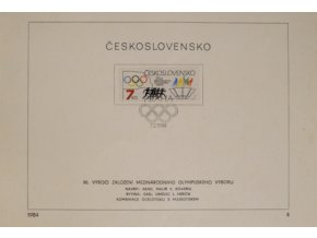 Pamětní list 90. výročí založení MOV, 1984DSC 6798
