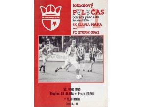 Fotbalový POLOČAS SK SLAVIA PRAHA vs. FC Sturm GratzDSC 6848