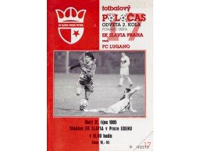 Fotbalový POLOČAS SK SLAVIA PRAHA vs. FC LuganoDSC 6847