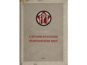 Kniha K dějinám dělnického tělovýchovného hnutíDSC 6877