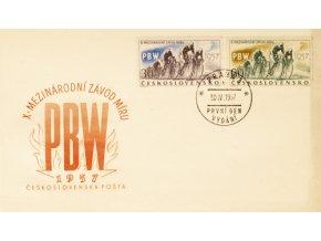 FDC PBW, X. mezinárdní závod míru,1957DSC 6937