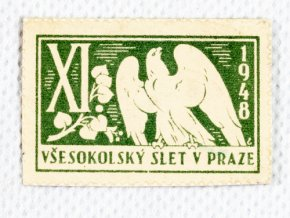 Známka Všesokolský slet v Praze, 1948DSC 7301