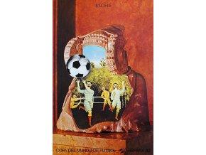 Plakát k mistrovství světa ve fotbale (Španěsko 1982), jiří Kolář