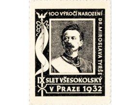 Známka IX.Všesokolský slet v Praze, 1932DSC 7403