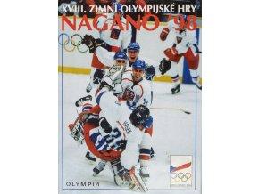Kniha, XVIII. Zimní Olympijské hry Nagano, 1998Kniha, XVIII. Zimní Olympijské hry Nagano, 1998
