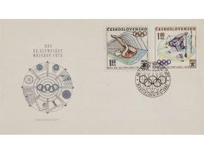 FDC Hry XX. Olympijády Mnichov,1972FDC Hry XX. Olympijády Mnichov,1972