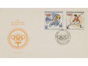 FDC Hry XX. Olympijády Mnichov,1972 IIFDC Hry XX. Olympijády Mnichov,1972 II