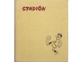 Kompletní svázaný časopis Stadion rok 1962 v tvrdé papírové vazběDSC 7558