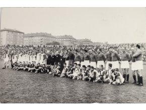 Fotografie nástup před Derby Slavia vs. Sparta, VršoviceDSC 7521