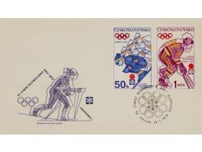 FDC XVI. Olympijské hry Sapporo, 1972FDC XVI. Olympijské hry Sapporo, 1972