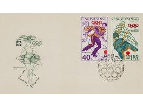 FDC XVI. Olympijské hry Sapporo, Krasobruslení, 1972FDC XVI. Olympijské hry Sapporo, Krasobruslení, 1972