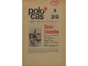 POLOČAS SLAVIA LOKOMOTIVA, 19681969 (1)