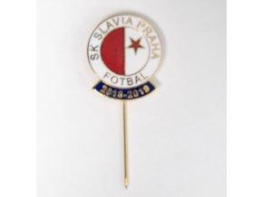 Odznak SK Slavia Praha, sezona 2018 2019 W B GDSC 7451