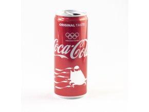 Plechovka Coca Cola, Olympijské edice, Boby, 2018DSC 7806