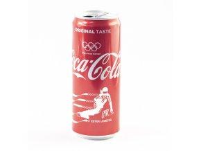 Plechovka Coca Cola, Olympijské edice, Ester Ledecká, Snowboard, 2018DSC 7808
