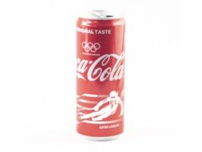 Plechovka Coca Cola, Olympijské edice, Ester Ledecká, Alpské lyžování, 2018DSC 7814