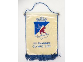 Vlajka Lillehammer Olympic City, 1994Vlajka Lillehammer Olympic City, 1994
