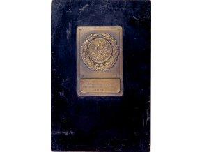 Plaketa tenis, III.cena Dvouhra pánů o pohár S.K.Rapid, 1930Plaketa tenis, III.cena Dvouhra pánů o pohár S.K.Rapid, 1930 (4)
