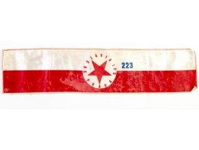 Pořadatelská páska SK Slavia Praha č.223DSC 7842