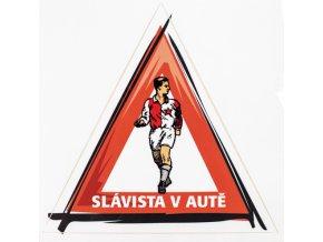 Samolepka Slávista v autě IIDSC 8028