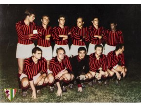 Pohled do Vršovic, F.C. Milan, 1964Pohled do Vršovic, F.C. Milan, 1964