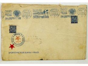 FDC SK SLAVIA PRAHA Ferencvaros, Středoevropský pohár 1938 IIFDC SK SLAVIA PRAHA Ferencvaros, Středoevropský pohár 1938 II
