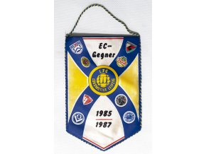 Klubová vlajka EC Gegner, 19851987Klubová vlajka EC Gegner, 19851987