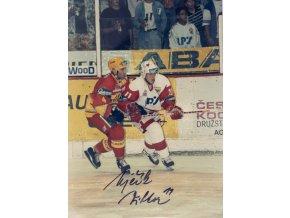 Fotografie s podpisem, Viktor Ujčík, HC Slavia Praha, 1996DSC 8107