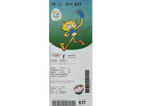 Vstupenka OG Rio 2016, BadmintonDSC 8126