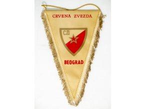 Klubová vlajka Crvena Zvezda BeogradKlubová vlajka Crvena Zvezda Beograd