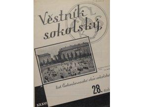 Věstník sokolský, 193428Věstník sokolský, 193428