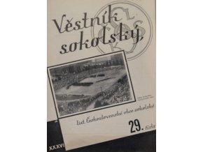 Věstník sokolský, 193429Věstník sokolský, 193429