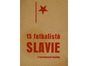 sprt antique 6 17 (104) 15 fotbalistů SLAVIE v karikaturách Haďáka