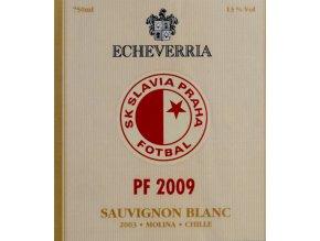 Vignette PF 2009, SK Slavia Praha, Sauvignon BlancVignette PF 2009, SK Slavia Praha, Sauvignon Blanc