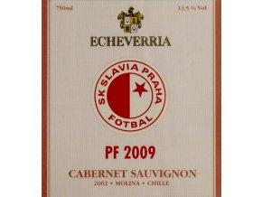 Vignette PF 2009, SK Slavia Praha, Cabernet Sauvignon BlancVignette PF 2009, SK Slavia Praha, Cabernet Sauvignon