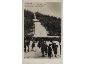 Pohlednice I.veř. lyž. závody ve skoku S.K.Slavie, 1937Pohlednice I.veř. lyž. závody ve skoku S.K.Slavie, 1937 (1)