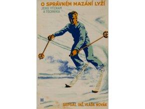 Brožura, O správném mazání lyžíBrožura, O správném mazání lyží (1)