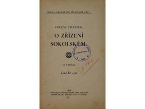 Brožura, O zřízení školském, 1929Brožura, O zřízení školském, 1929
