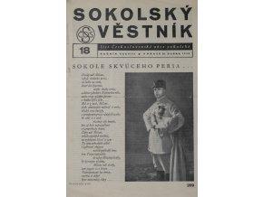Věstník sokolský, 193618Věstník sokolský, 193618