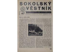 Věstník sokolský, 193647Věstník sokolský, 193647