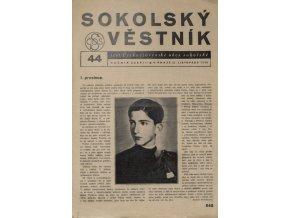 Věstník sokolský, 193644Věstník sokolský, 193644