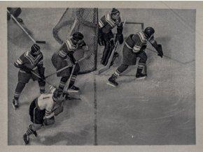 Kartička Olympia, Cortina d'Ampezzo, 1964 , hokej RUS SWEDSC 8458