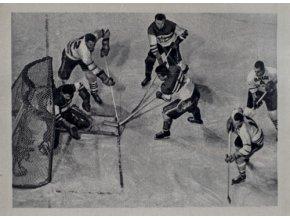 Kartička Olympia, Cortina d'Ampezzo, 1964 , hokej CZE CANKartička Olympia, Cortina d'Ampezzo, 1964 , hokej CZE CAN